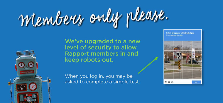 Members only please. We've upgraded our security.