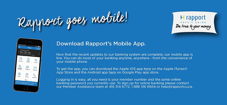 Rapport goes mobile