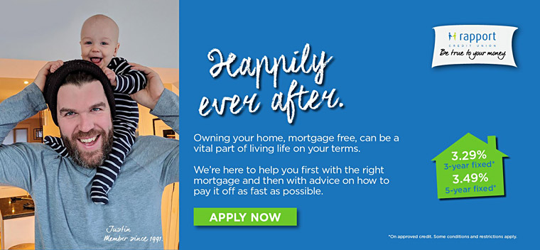 Happily ever after. Owning your home, mortgage free, can be a vital part of living life on your own terms.
