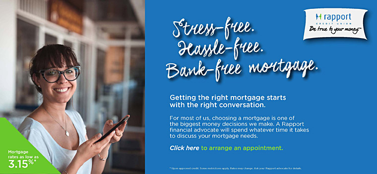 Stress-free. Hassle-free. Bank-free mortgage.