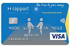Visa* Travel Rewards Gold Card